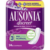 Compresa normal AUSONIA Discreet, paquete 24 uds.