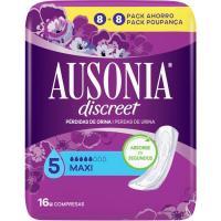 Compresa maxi AUSONIA Discreet, paquete 16 uds.