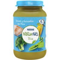 Potito de brócoli-guisantes con pavo bio NESTLÉ, tarro 190 g