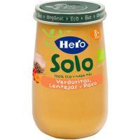 Potito eco de verduras-lentejas-pavo HERO, tarro 190 g