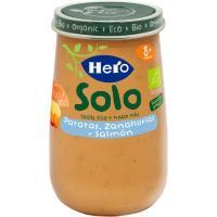 Potito eco de verduras con salmón HERO, tarro 190 g