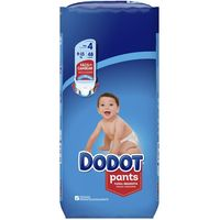 Pañal Pants 9-15 kg Talla 4 DODOT, paquete 48 uds.