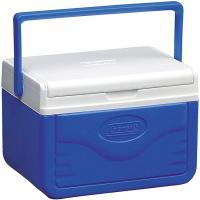 Nevera rígida portátil de poliuretano azul blanca 4 litros COLEMAN 20 x 18 x 27 cm