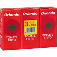 Tomate frito ORLANDO, pack 3x350 g