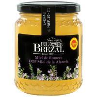 Miel de romero D.O.P. La Alcarria EL BREZAL, tarro 500 g