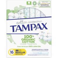 Tampón regular TAMPAX Naturals, caja 16 uds.