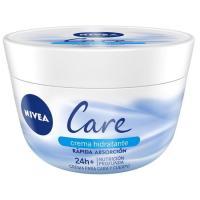Crema todo uso cara y cuerpo NIVEA Care, tarro 400 ml