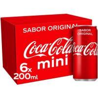 Refresco de cola COCA COLA, pack 6x20 cl