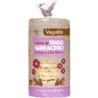 Tortita de trigo sarraceno bio VEGALIFE, paquete 100 g
