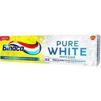 Dentífrico pure white BINACA, tubo 75 ml