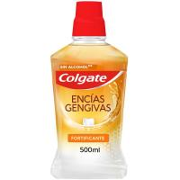 Enjuague bucal encías fortificante COLGATE, botella 500 ml