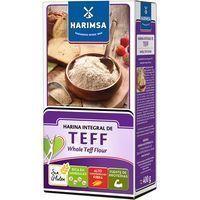 Harina integral de teff HARIMSA, caja 400 g