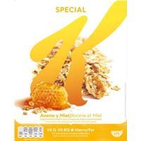 Cereales de avena-miel SPECIAL K, caja 420 g