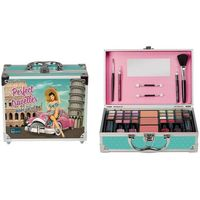 Maleta de maquillaje Pin Up IDC COLOR, pack 1 ud.