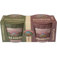 Paté a las finas hierbas-pimienta CASA TARRADELLAS, pack 2x125 g