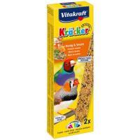 Barrita pajaros exóticos miel-sésamo VITAKRAFT, 2 uds, caja 60 g