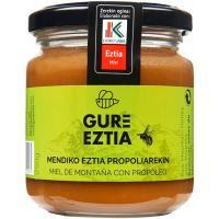 Miel con propóleo GURE EZTIA, frasco 250 g