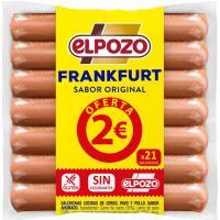 Salchichas Frankfurt EL POZO, pack 4x170 g