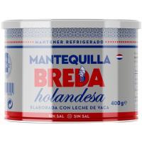Mantequilla holandesa sin sal BREDA, lata 400 g