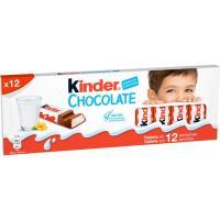 Chocolatina infantil T12 KINDER, caja 151,2 g