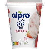 Skyr de fresa ALPRO, tarrina 400 g