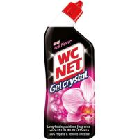 Gel Crystal Pink Flower WC NET, botella 750 ml