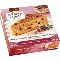 Torta de frutos del bosque BOTTEGA DELLA TORTA, paquete 400 g