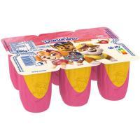 Danonino Petit de fresa-plátano DANONE, pack 6x50 g