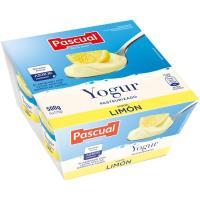 Yogur de limón PASCUAL, pack 4x125 g