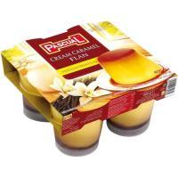 Flan de vainilla PASCUAL, pack 4x100 g