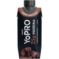 Batido de chocolate protéico YOPRO, botellín 250 ml
