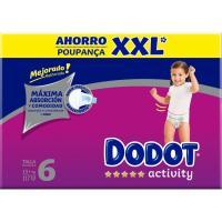 Pañal +13 kg Talla 6 Box XXL DODOT Activity, caja 117 uds