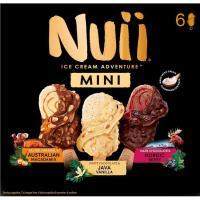 Mini bombón caramelo-chocolate-vainilla NUII, 6 uds., caja 253 g