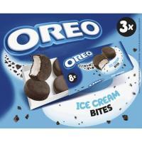 Helado de crema bomboncitos small bites OREO, 3 uds., caja 162 g