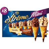 Mini cono surtido EXTREME, caja 312 g