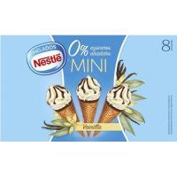 Mini conos de vainilla 0% EXTREME, 8 uds., caja 312 g