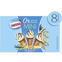 Mini conos de vainilla 0% EXTREME, 8 uds, caja 312 g