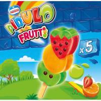 Helado de hielo infantil Frutti PIRULO, 5 uds., caja 320 g