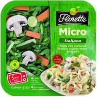 Micro vapor Italiana FLORETTE, tarrina 330 g