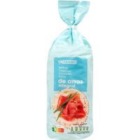 Tortita de arroz EROSKI, paquete 130 g