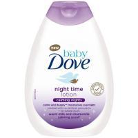 Loción noche tranquilidad DOVE Baby, bote 400 ml
