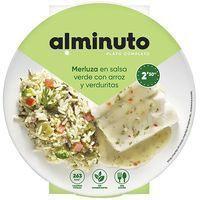 Merluza en salsa verde ANGULAS AGUINAGA, bandeja 250 g