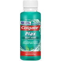 Enjuague bucal mini COLGATE Plax, bote 100 ml