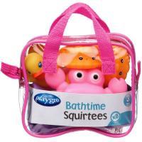 Jugete baño, set animalitos con colores divertidos y sellados para evitar la formación de moho en el interior PLAYGRO