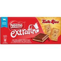 Chocolate extrafino con galleta tostarica NESTLÉ, tableta 120 g