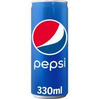 Refresco de cola PEPSI, lata 33 cl