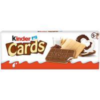 Galletas cards KINDER, caja 131 g