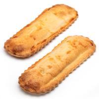 Empanada bocata de bacalao, bandeja 2 uds