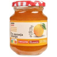 Mermelada de naranja EROSKI basic, frasco 350 g