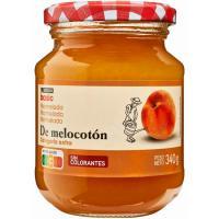 Mermelada de melocotón EROSKI basic, frasco 340 g